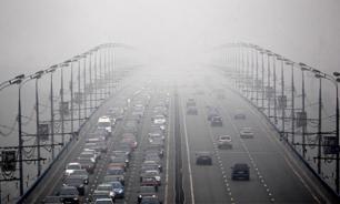 В Пекине из-за смога объявлен повышенный уровень опасности