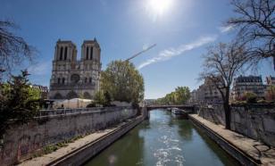 В Париже можно вновь увидеть Нотр-Дам. Пока издалека