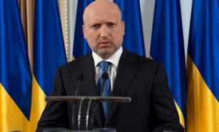 Турчинов: Нам нужна помощь Запада для укрощения Донбасса