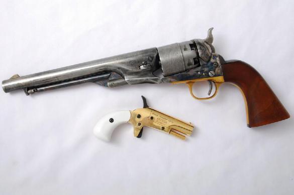 Однозарядный пистолет за 100 долларов