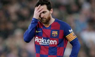 """""""Барселона"""" будет оштрафована за жест Месси в память о Марадоне"""