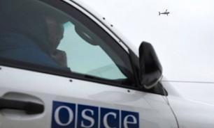 Четыре бронеавтомобиля ОБСЕ сожжены в Донецке