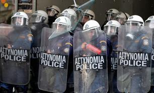 В Афинах произошли столкновения анархистов с полицией