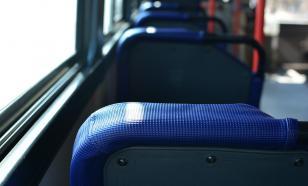 Водитель скончался за рулём автобуса во время движения