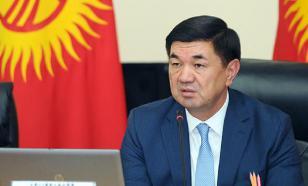 Премьера Киргизии поразило равнодушие местных чиновников