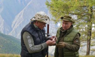 Путин и Шойгу отправились на отдых в тайгу по грибы и ягоды