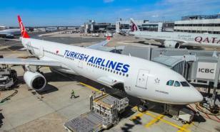 Российский самолет успешно приземлился в Стамбуле