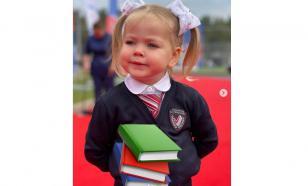 Кудрявцева показала необычную первосентябрьскую линейку дочери
