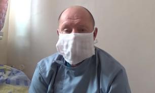 Директор больницы на Украине объявил голодовку