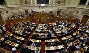 В греческом парламенте началось обсуждение реформ, требуемых ЕС