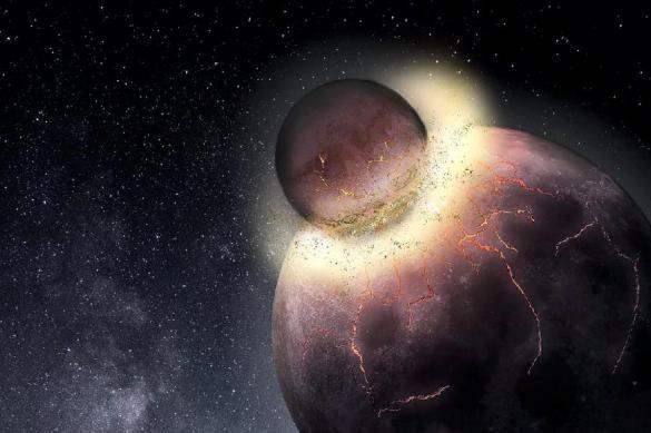Эксперт рассказал о загадочной планете Тейя