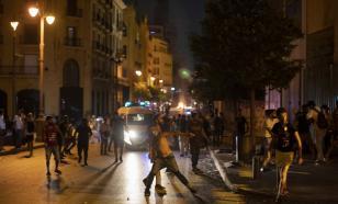 В центре Бейрута начались столкновения полиции и протестующих
