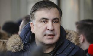 Саакашвили получил по голове в Греции