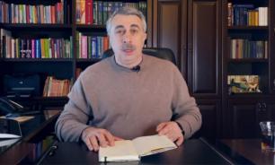 Комаровский рассказал, как правильно пользоваться санитайзером