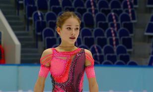 Акатьева первой из россиянок исполнила четверной и тройной аксель