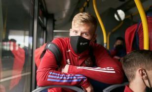 Защитник Маслов покинул расположение молодёжной сборной России