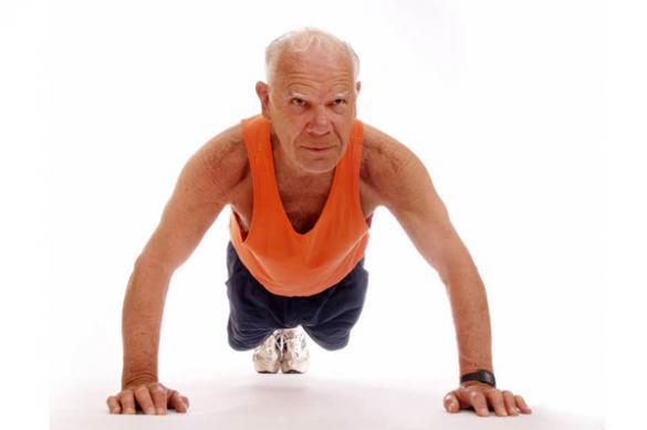 Даже в 80 не поздно начать тренироваться - исследование