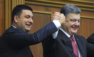 Гройсман в очередной раз обвинил Порошенко в провале реформ