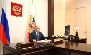 Путин выступил с видеообращением о прекращении войны в Карабахе