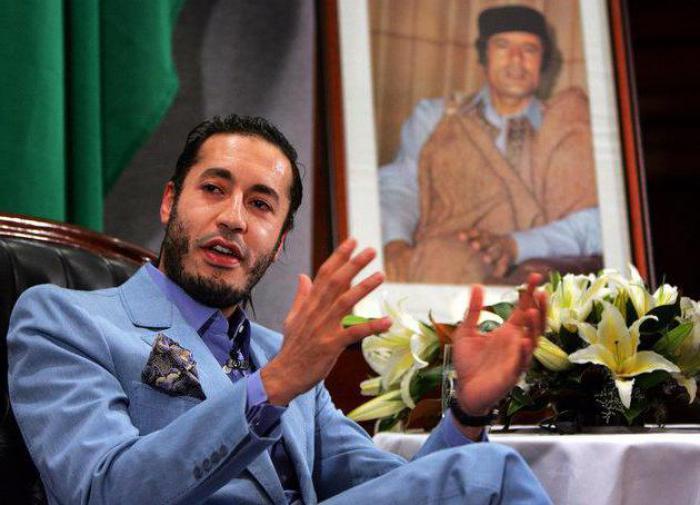 Сын Каддафи недавно вышел из тюрьмы и сразу полетел в Турцию