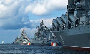 ВМС  России и Сирии впервые проводят совместные военные учения