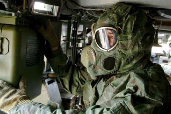 Подразделения РХБЗ ЦВО обеспечили перегруппировку войск