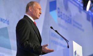 Путин: США санкциями вытесняют Россию с европейского рынка