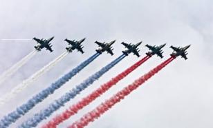 Шесть Су-25 поздравили американцев с Днем независимости