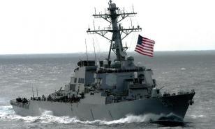 """Эсминец США в Черном море учебно утоплен """"Бастионами"""""""
