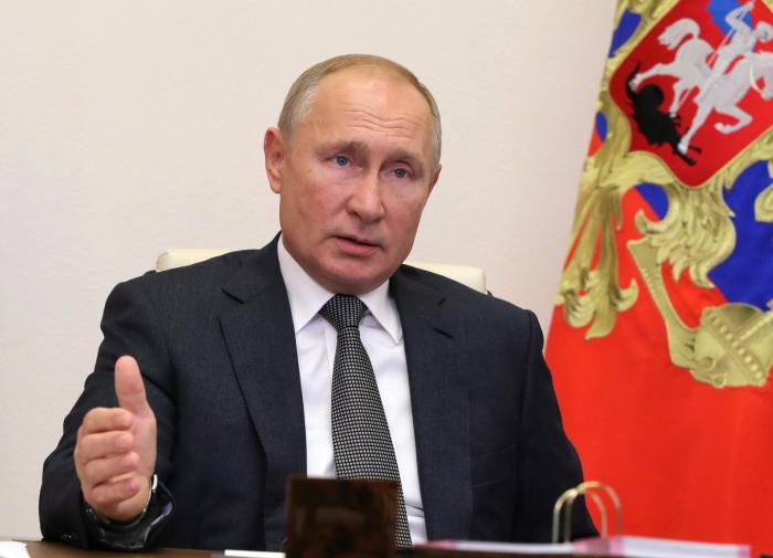 """""""Риски сохраняются"""": Путин обратился к россиянам"""