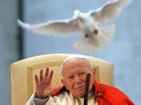 Памятник папе Иоанну Павлу II появился в московской библиотеке.