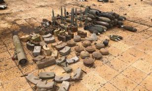 В Алеппо обнаружили крупный склад с оружием террористов