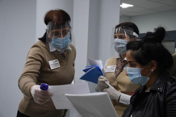 Свыше 2,2 тысячи москвичей заболели коронавирусом за сутки