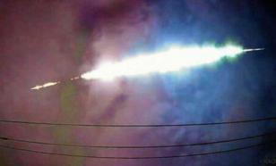 Неизвестное светящееся небесное тело пролетело над Японией