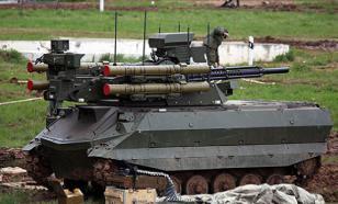 Россия впервые использовала боевых роботов на учениях с людьми