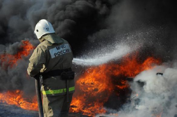 В Самаре загорелись шесть частных домов