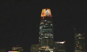 "Небоскреб Сан-Франциско стал ""башней Саурона"" на Хэллоуин"