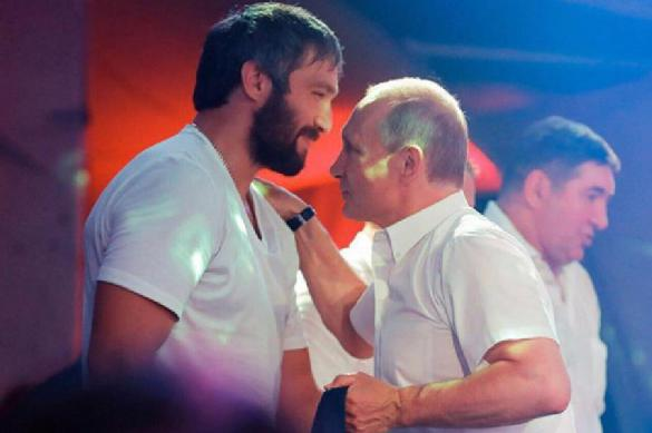 Овечкин пожелал Путину оставаться на посту президента как можно дольше