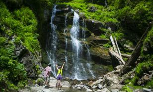 """На курорте в Сочи открылся для посещения Парк водопадов """"Менделиха"""""""