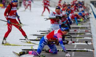 Россия заняла восьмое место в женской эстафете ЧМ по биатлону