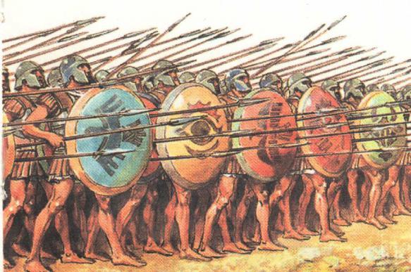 Как греки персов победили. Марафонское сражение