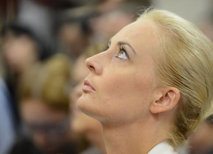Жена Навального вернулась в Москву из Германии