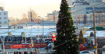Центр Москвы закроют для водителей в новогоднюю ночь