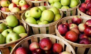 Росстат отмечает резкое повышение цен на яблоки