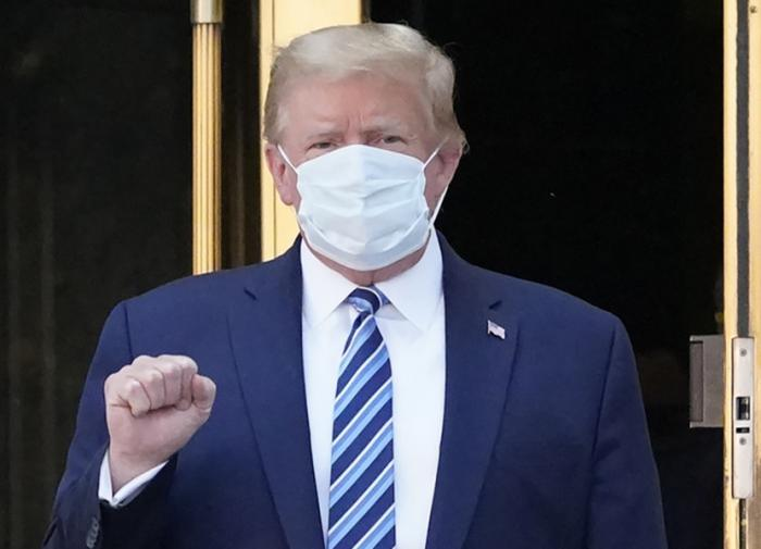 Вылеченный Трамп: COVID не страшнее обычного гриппа