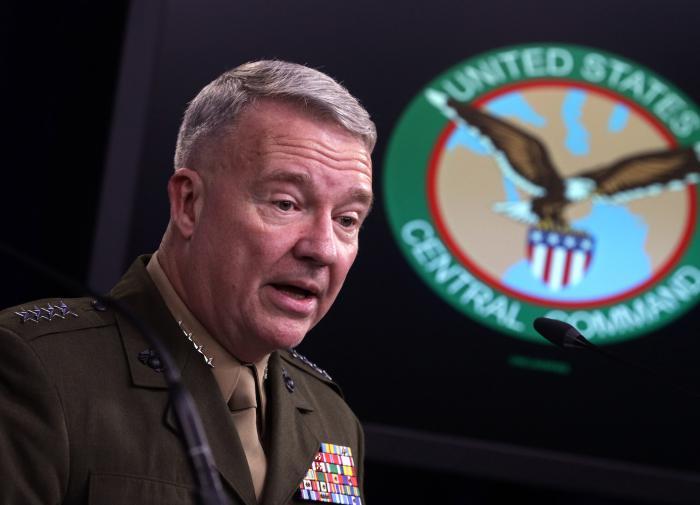 Маккензи: США будут бомбить талибов, поддерживая правительство Афганитана