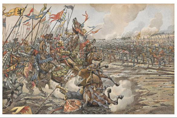 Священная лига против Османской империи. Битва при Лепанто