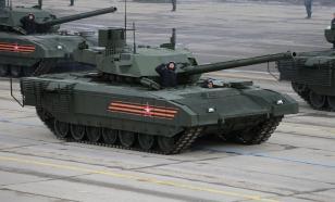 """Танк Т-14 """"Армата"""" впервые обнаружил и выбрал цели без участия экипажа"""