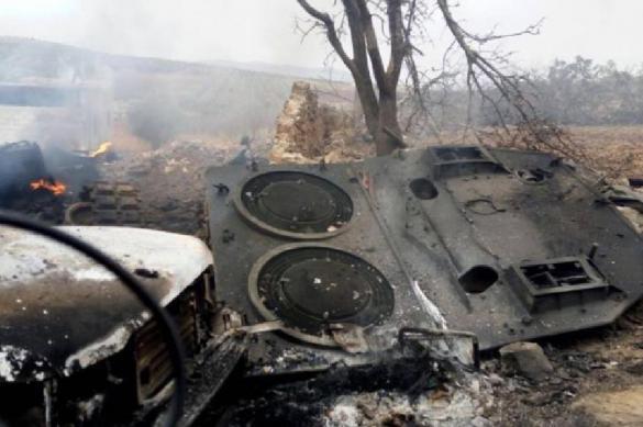 Неизвестные в Сирии уничтожили турецкий военный конвой