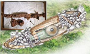 Загадочную двойную могилу эпохи викингов нашли в ходе дорожных работ